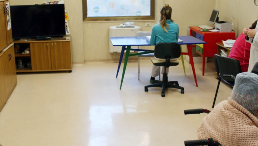 La sala della Terapia Occupazionale